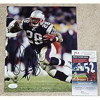 $59 » Corey Dillon Signed Photo - 8x10 + COA FF10145 - JSA Certified - Autographed NFL Photos