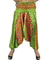 Yoga Harem Aladdin Pant Casual Hippie Baggy Pants Women Indian Trousers