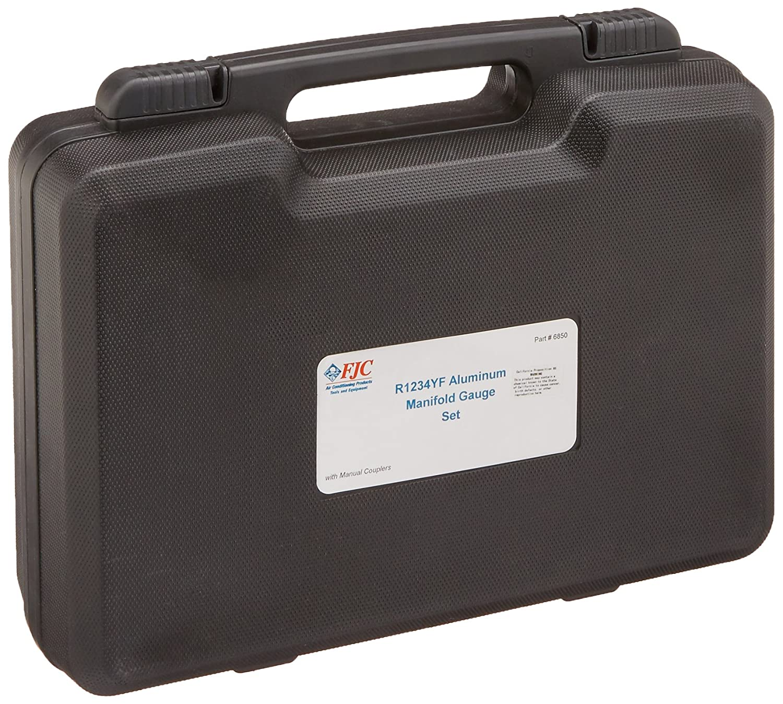 FJC 6850 AC Manifold Gauge and Set