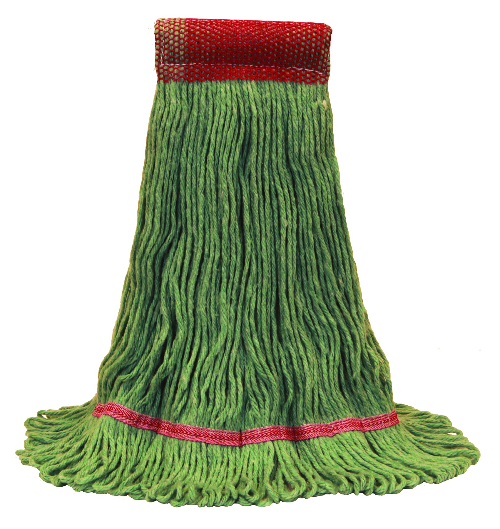 O'Cedar Commercial 97243 Healthi-Pro Anti-Microbial Mop, Large, Green (Pack of 6)