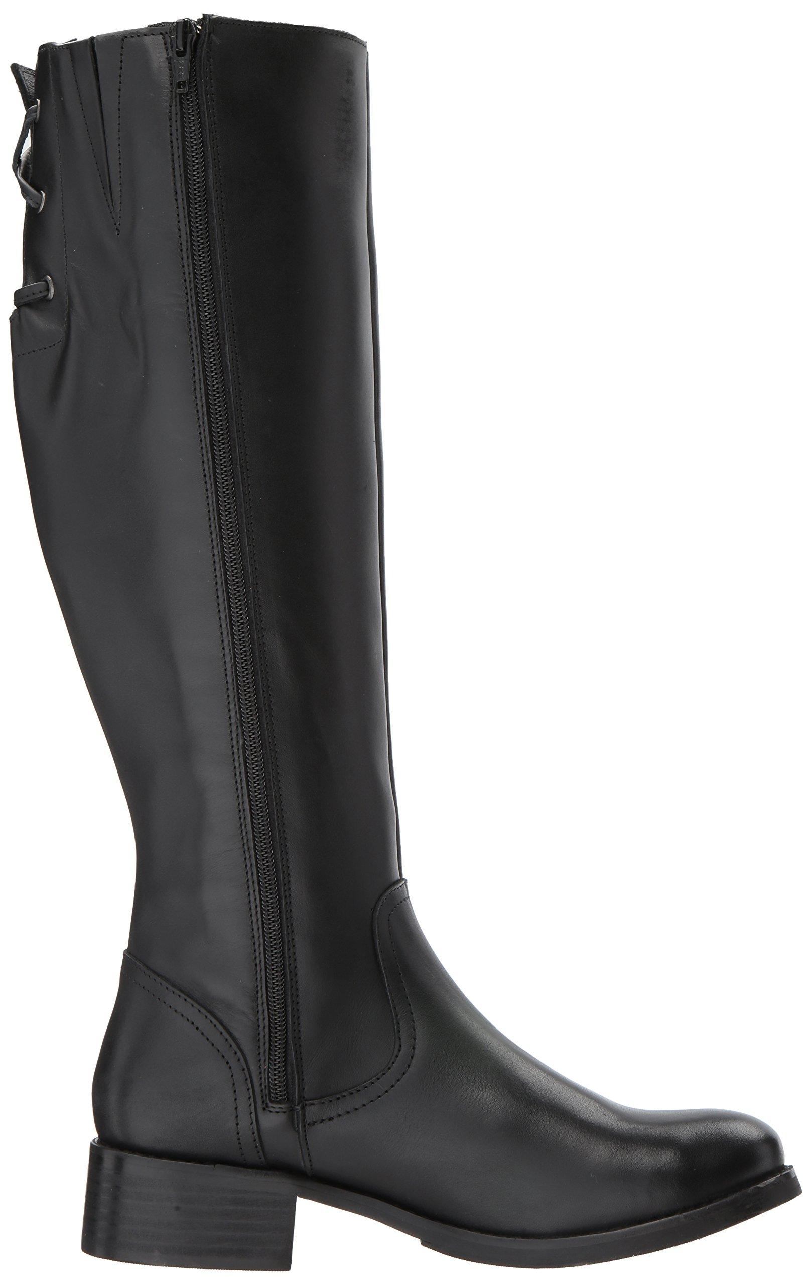Steve Madden Women's Lover Western Boot, Black Leather, 8.5 M US by Steve Madden (Image #7)