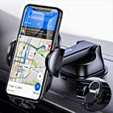 4 in 1 【Shock Absorbing】 Car Phone Mount for Dashboard Windshield Air Vent【Easy to Charge】, Anwas Cell Phone Holder for…