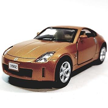 Amazon.com: Kinsmart Burnt Orange Nissan Fairlady 350Z Hardtop 1/34 ...