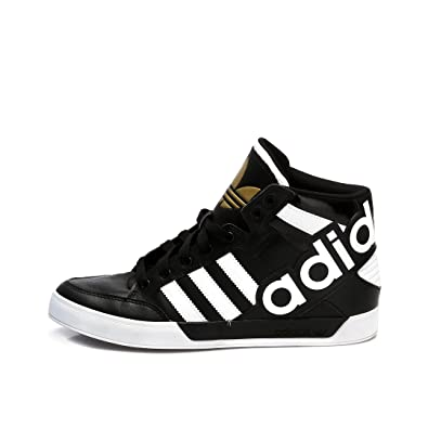 best sneakers 31dad aae50 adidas Hardcourt Hi Big Logo Mens Trainers (UK11.5 EUR46 23 US12)  Amazon.co.uk Shoes  Bags