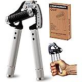 GD Iron Grip EXT 90 Hand Grip Exerciser Strengthener Premium Adjustable Hand Gripper (55 to 198 lbs (25~90kg)) Grip Strength