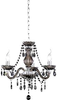 vidaXL - Lámpara de Techo con 5 Luces (plástico), Color ...