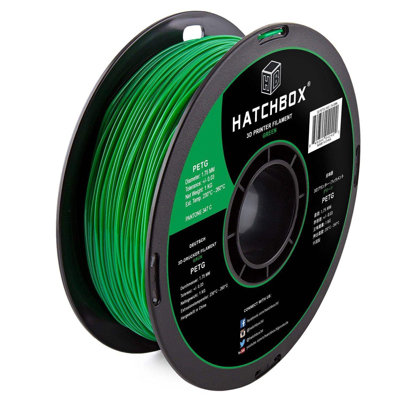 HATCHBOX 3d petg-1kg1.75-grn PETG 3d impresora filamento ...