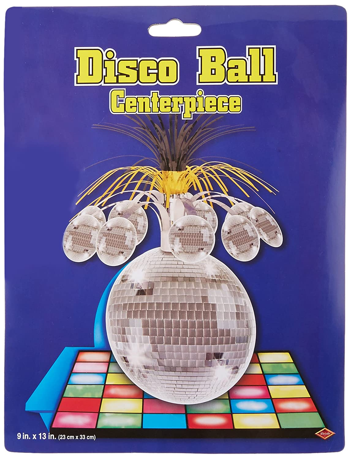 Beistle 57764 1-Pack Disco Ball Centerpiece, 13-Inch The Beistle Company