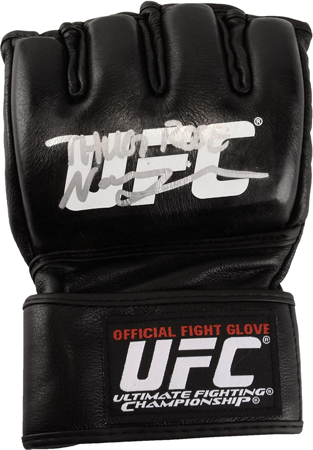 Rose Namajunas UFC Autographed Fight Model Glove