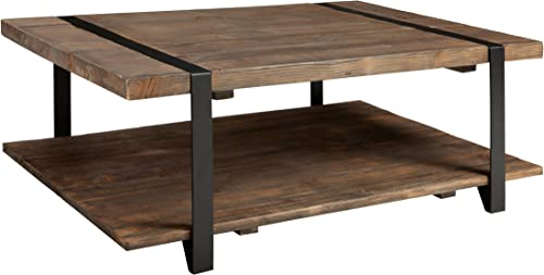 Stowe 48″L Reclaimed Wood Rectangle Coffee Table