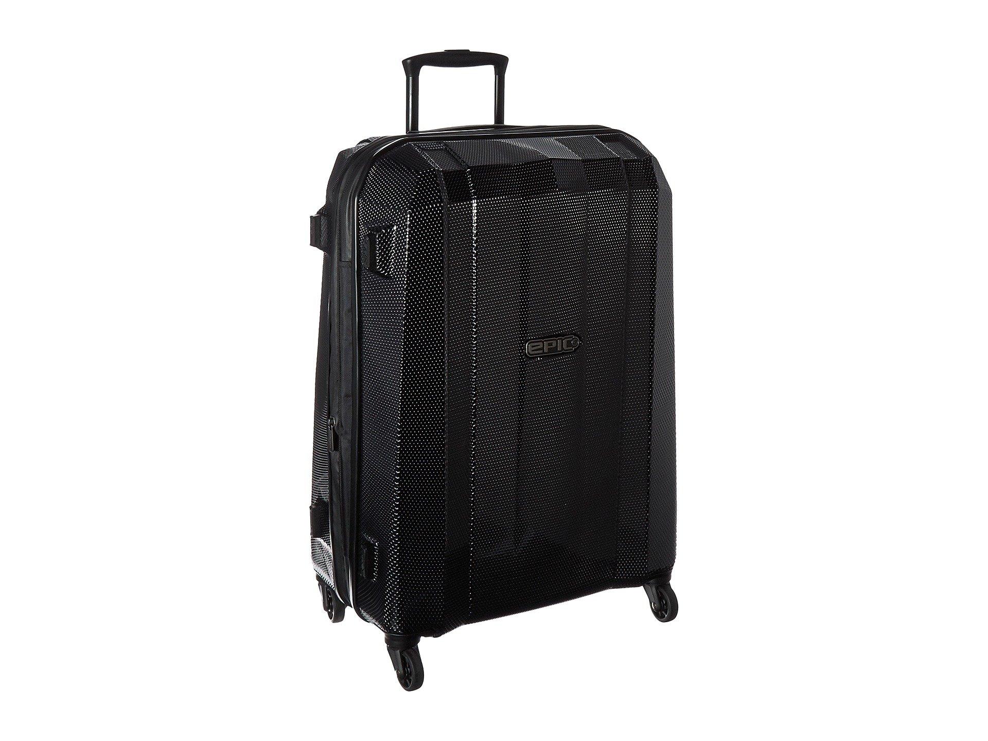 EPIC Travelgear Unisex GRX Hexacore EX 26'' Trolley Black Luggage by EPIC Travelgear