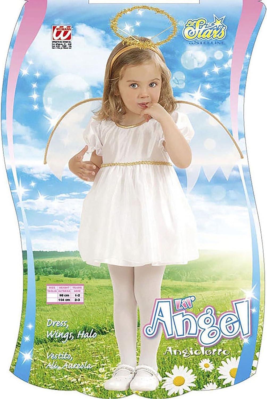 Widmann, Traje de ángel para Niñas, Blanco, 1-2 años (98 cm ...