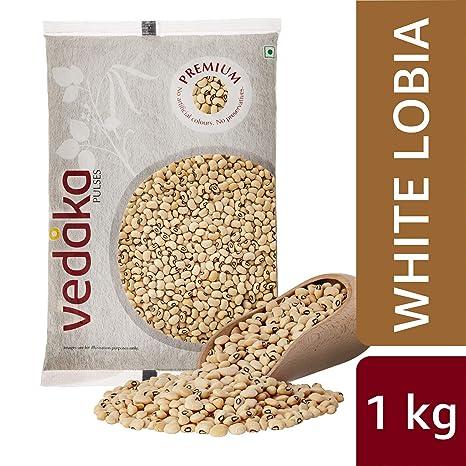 Vedaka Premium White Lobia, 1kg