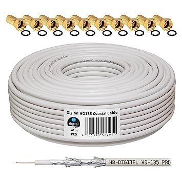 HB-Digital - Cable coaxial para DVB-S, S2 DVB-C y