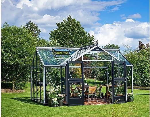 Serre Juliana Orangerie 15,2 m² en Aluminium/Verre de ...