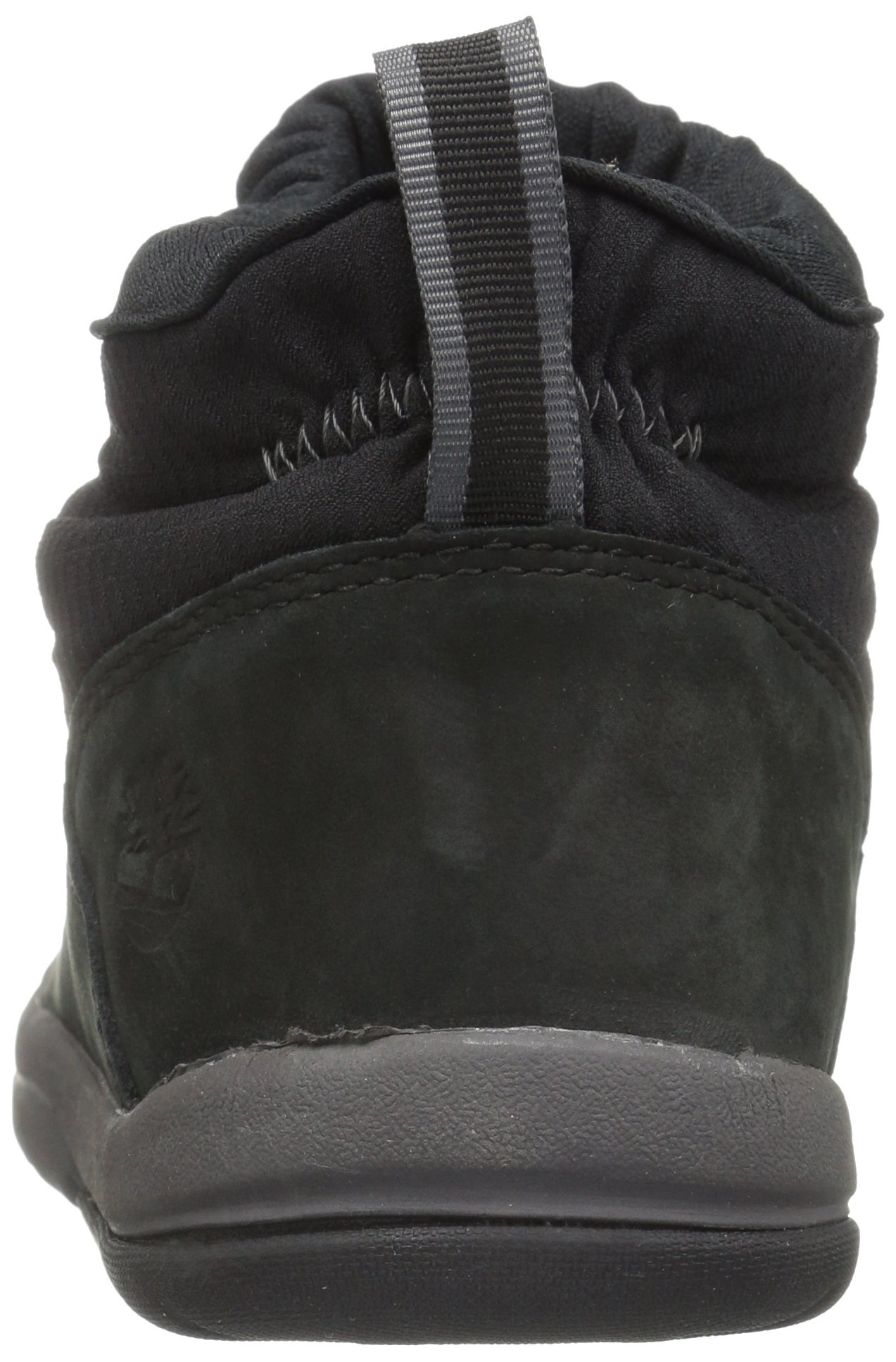 Timberland Unisex Toddle Tracks Warm Fabric Leather Bootie Snow Boot Black Nubuck 12 M US Little Kid by Timberland (Image #2)