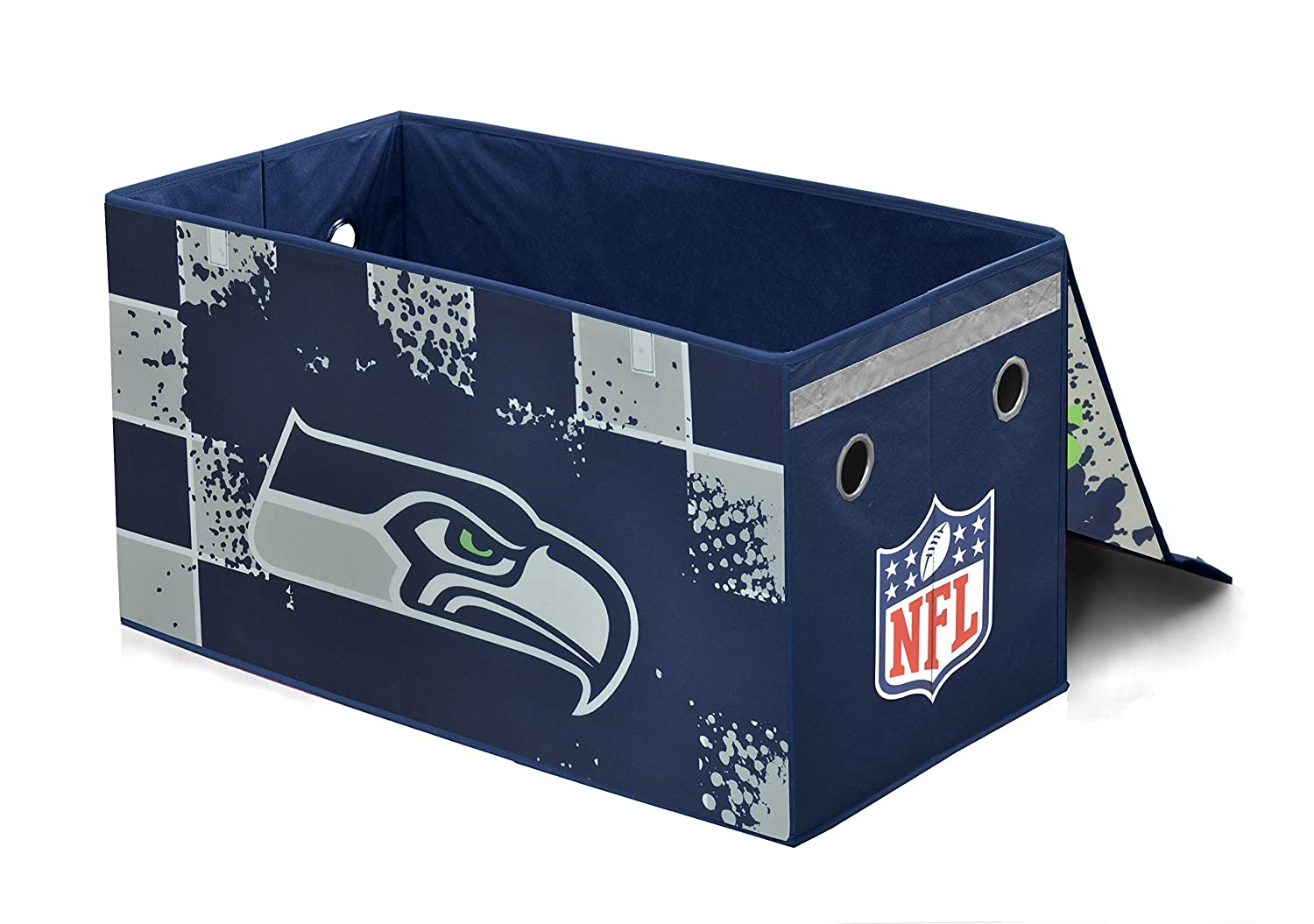 Amazon.com: NFL Seattle Seahawks Collapsible Storage Trunk: Toys U0026 Games