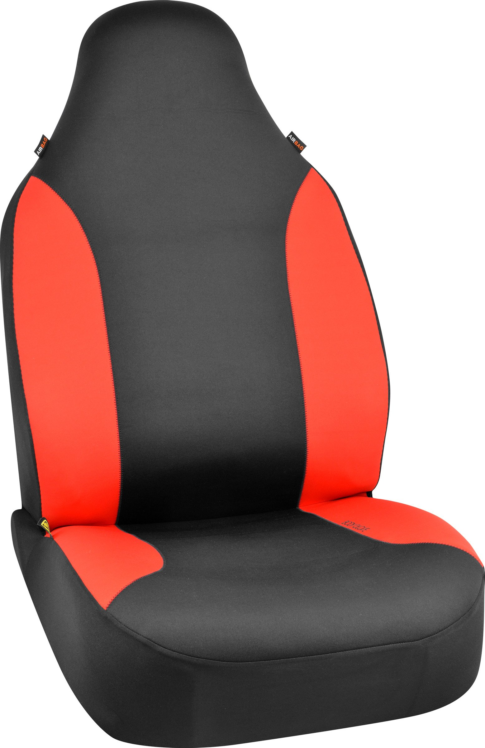 Bell Automotive 22-1-70381-9 Red Body Glove Hyper-Fit Seat Cover by Bell Automotive