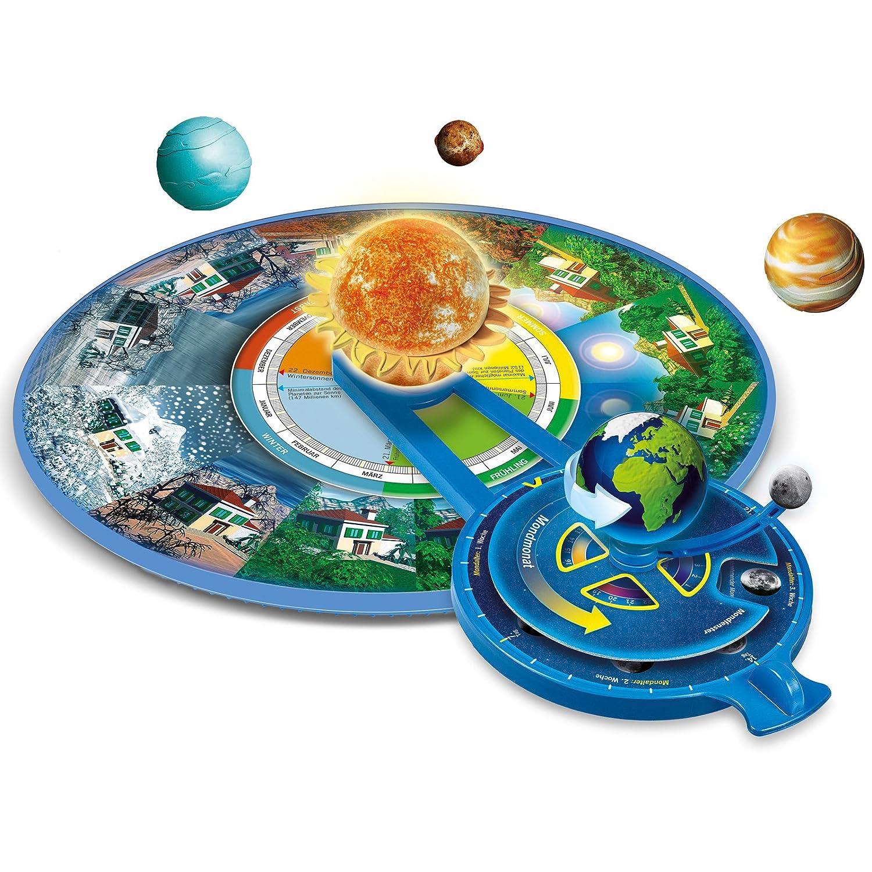 #0107 Galileo Das Astronomie-Labor ab 8 Jahren • Sonnensystem Set Experimentier Kasten Kinder