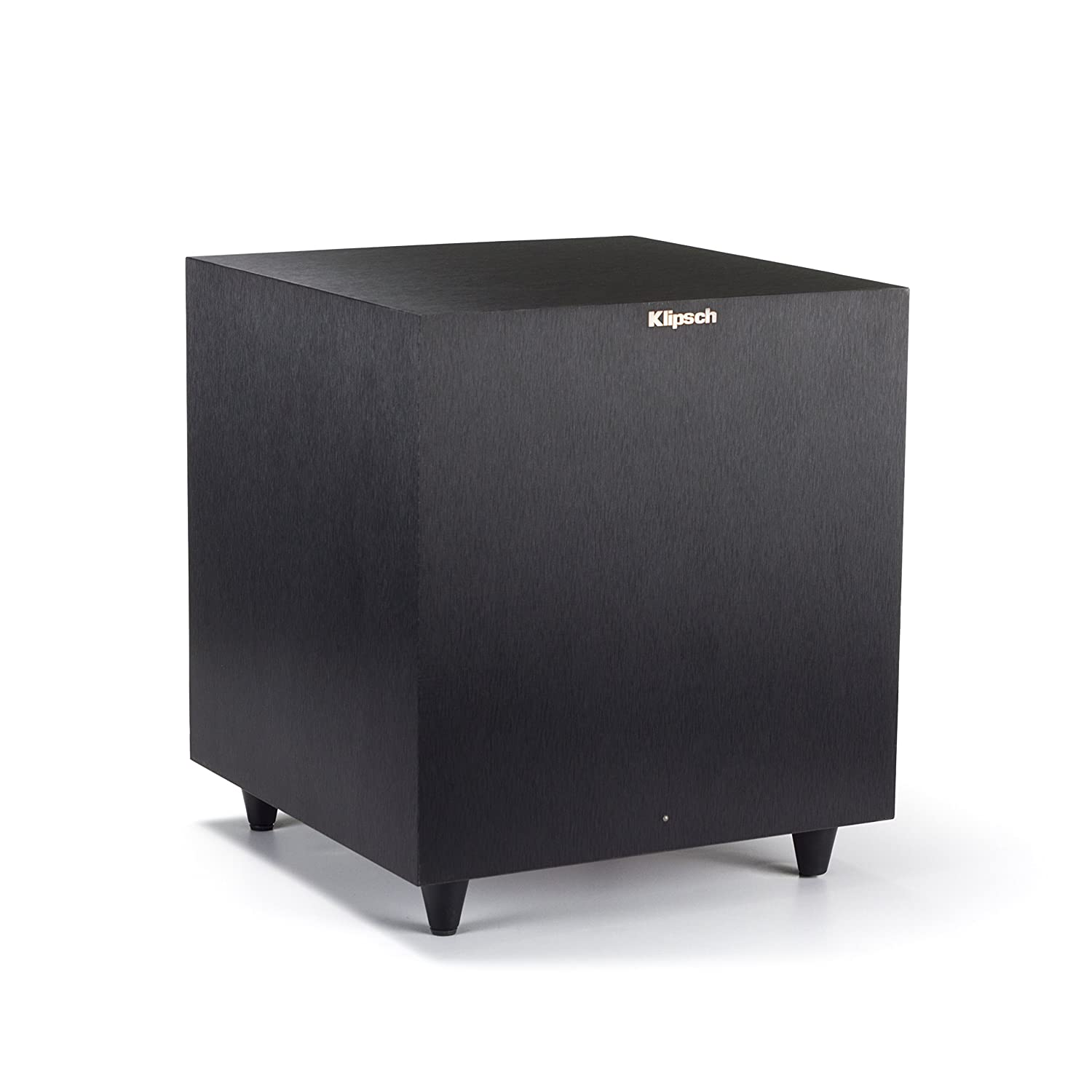 Klipsch Reference R-8SW Surround Subwoofer, 150 Watts Peak Power (Brushed Black Vinyl, 8-Inch)