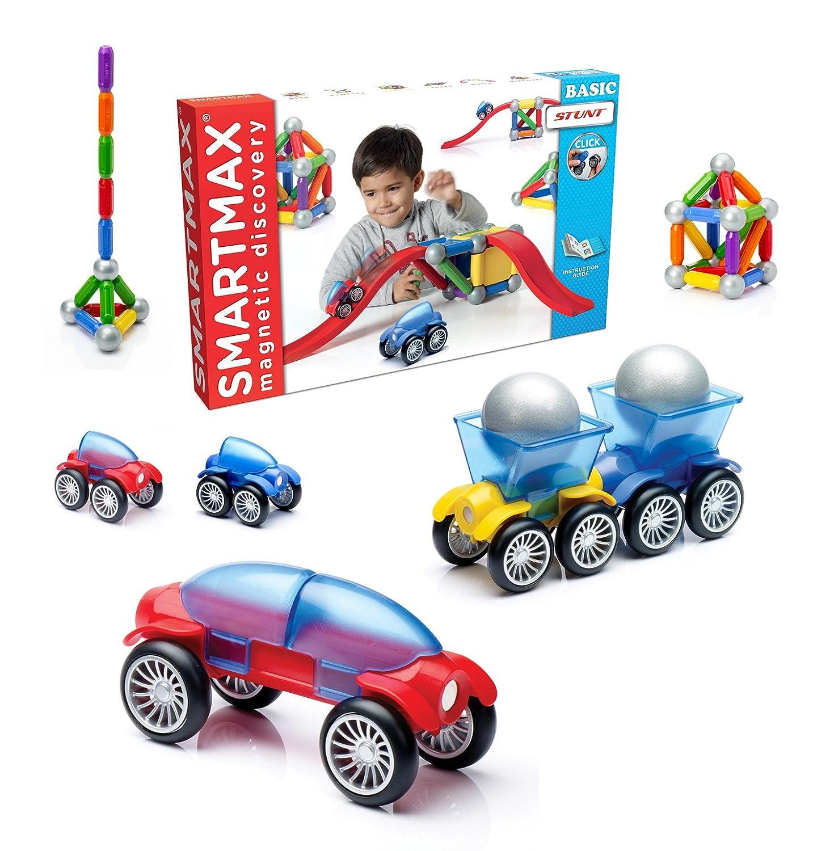 Smartmax - SMX 502 - Jeu de Construction - Basic - Stunt / Les Cascadeurs: Amazon.fr: Jeux et Jouets