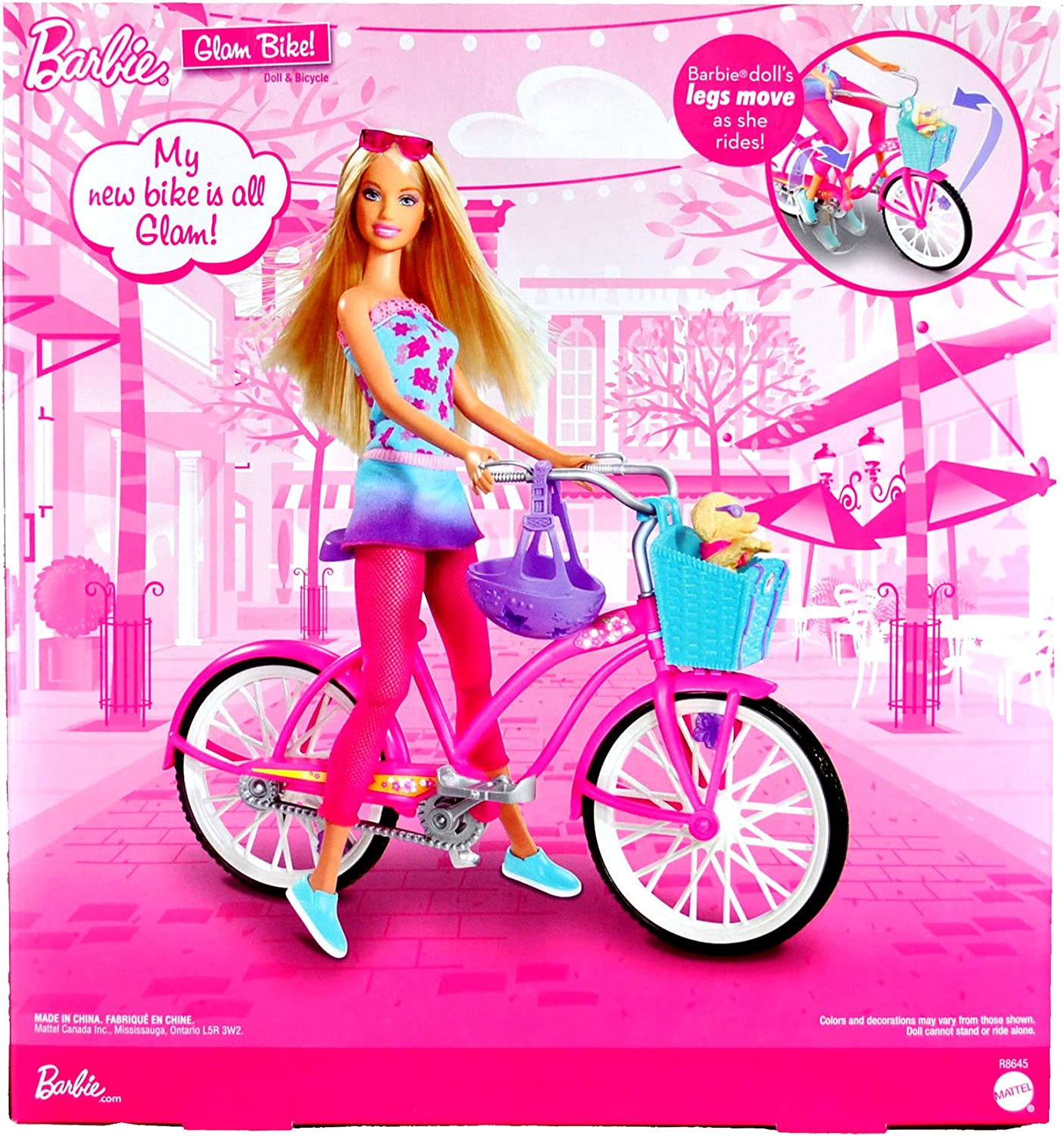 Amazon.es: Barbie Mattel Year 2009 Glam Fashionistas Series Juego ...