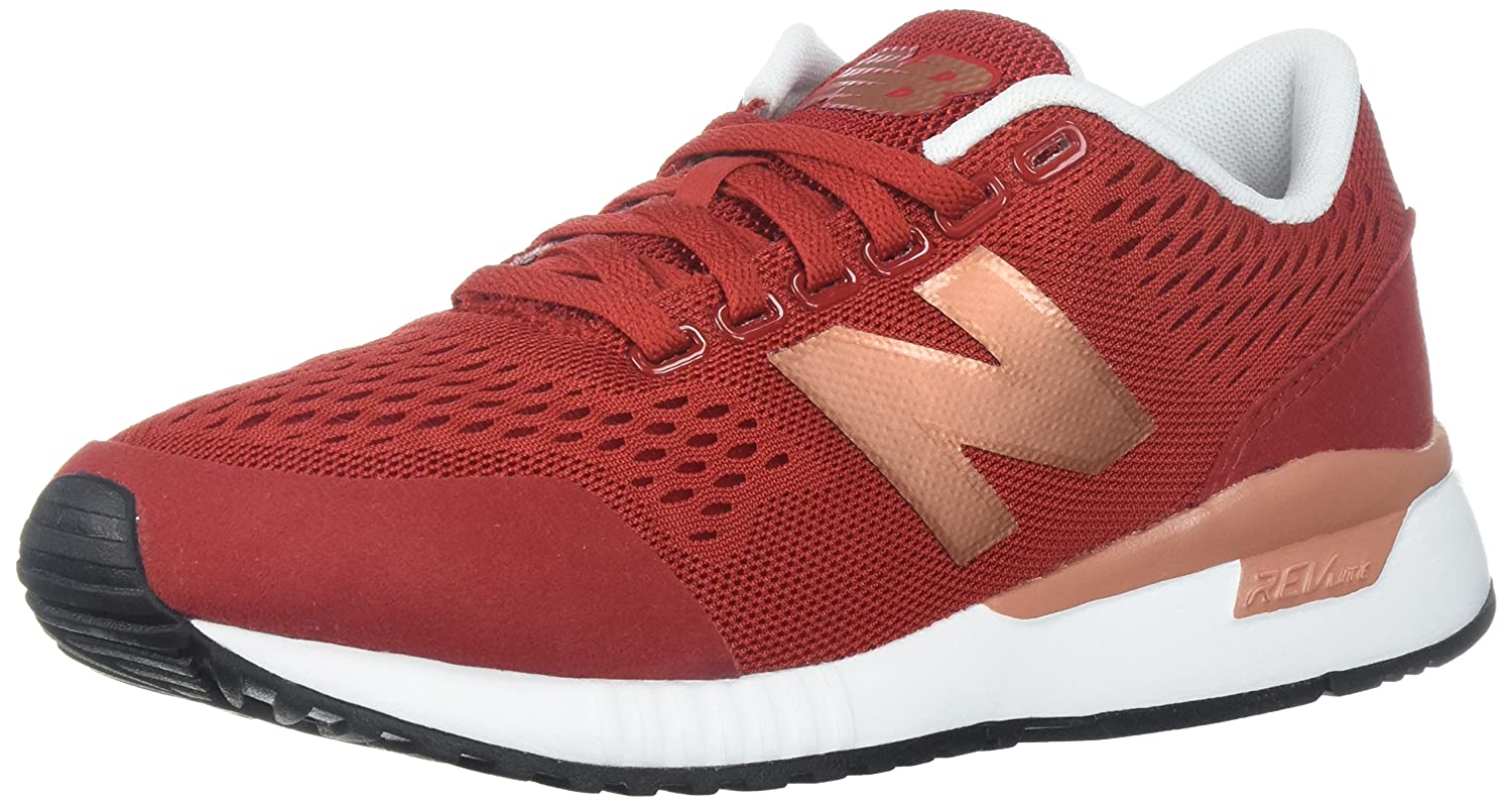 New Balance Women's 005v1 Sneaker B06XX52V1T 95 B US|Tempo Red/Copper Metallic