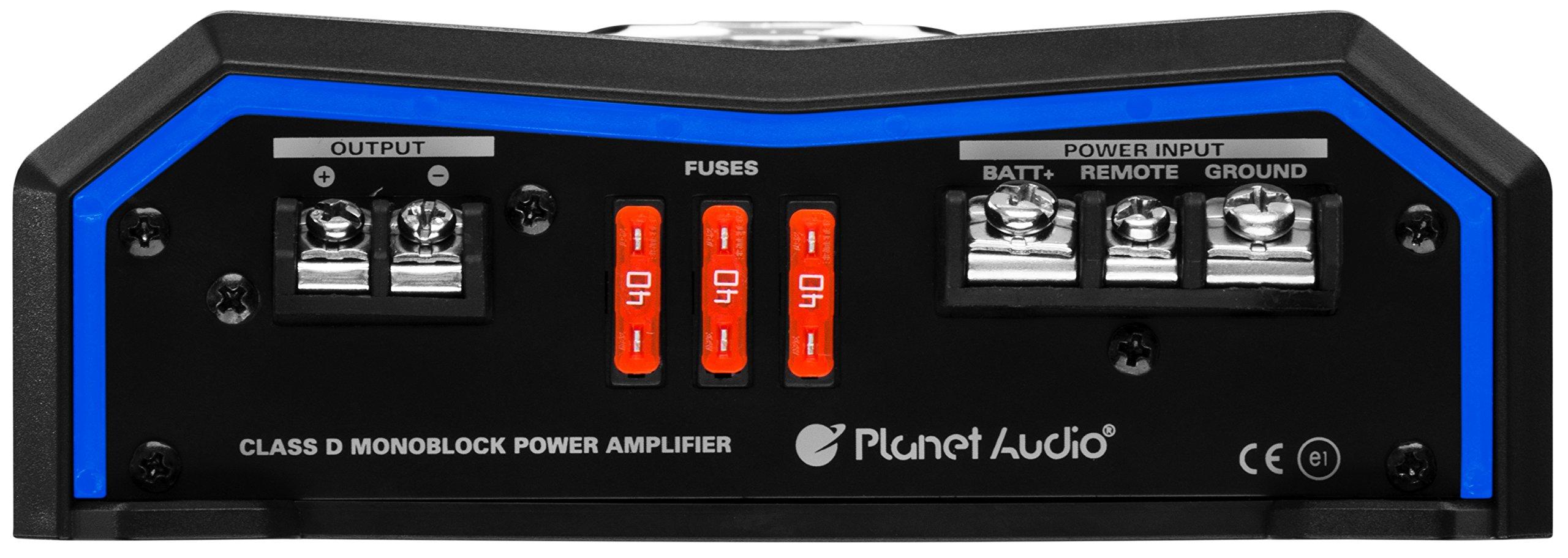 Planet Audio PL4000.1D Pulse 4000 Watt, 1 Ohm Stable Class D Monoblock Car Amplifier with Remote Subwoofer Control by Planet Audio (Image #3)