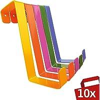 Sobre los ganchos de la puerta 10 piezas