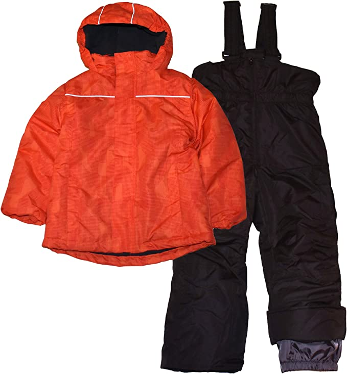 Pulse Snow Suit Boys Waterproof Breathable Ski Pants Overall Med 10-12 Winter