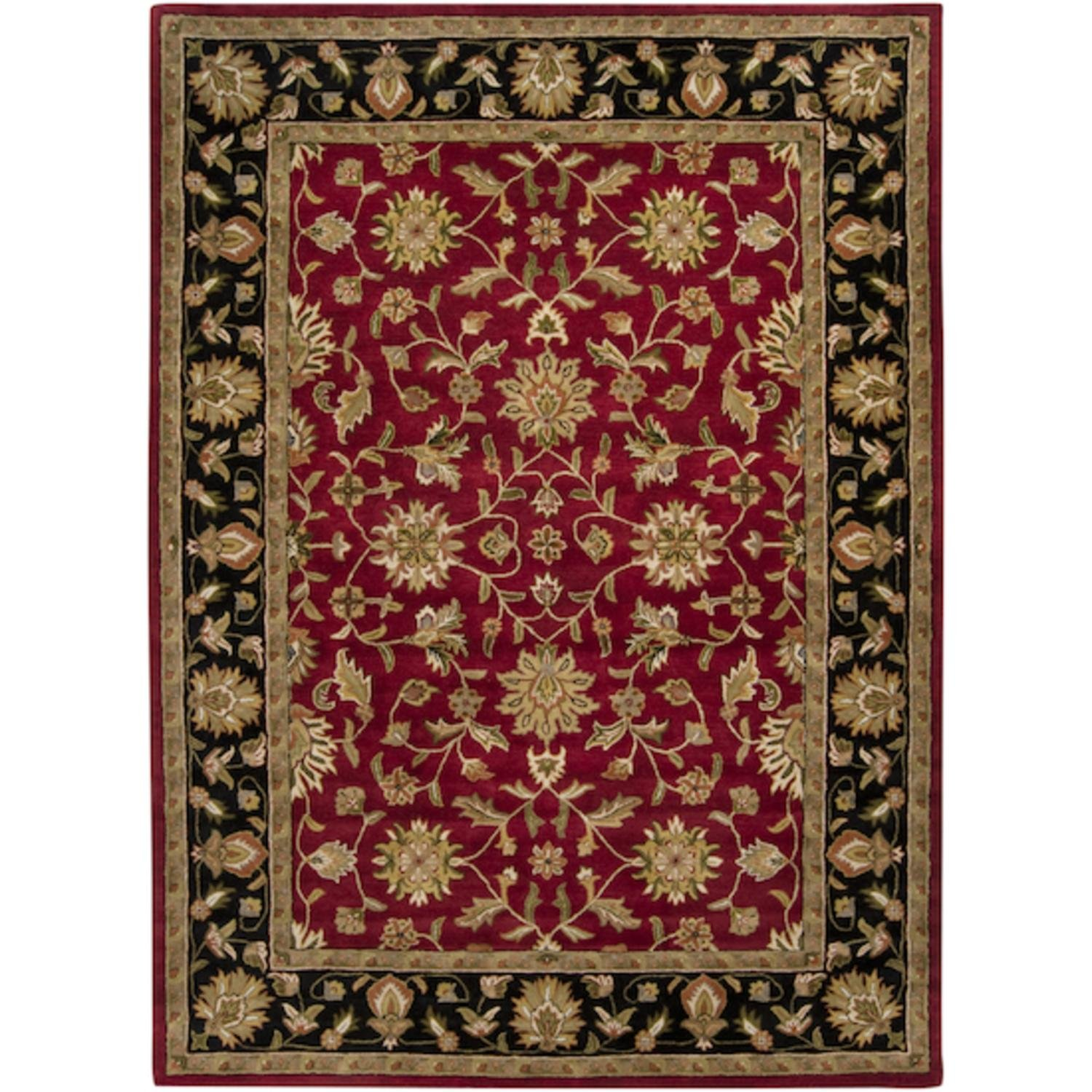 Amazon.com: CC Home Furnishings 10 x 14 Salamanca Wine ...