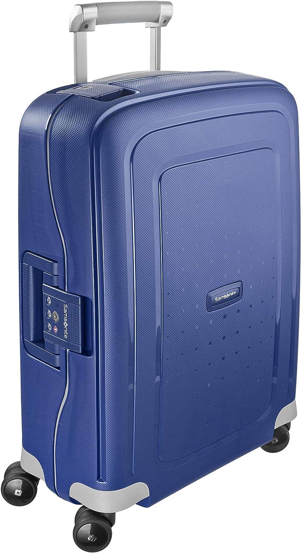 Samsonite S'Cure Spinner S Equipaje de mano, 55 cm, 34 L, Azul (Dark Blue)