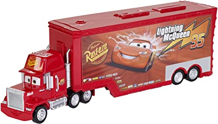 Car Mack Boy Casting Cars Boutique Pixar 1:55 King Lightning Alloy Racer Disney