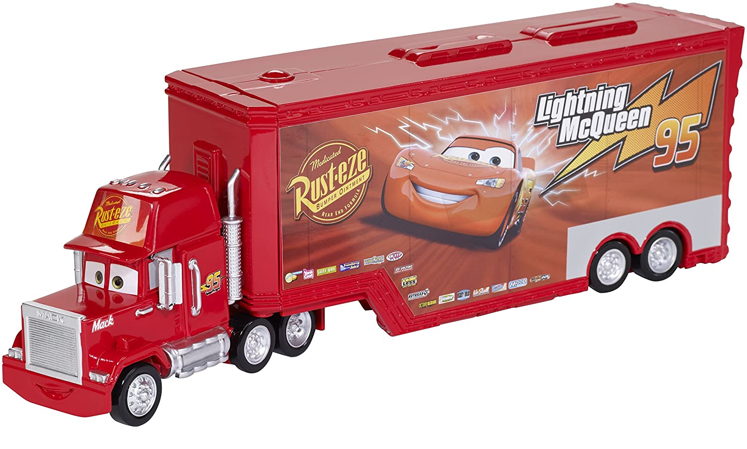 b3c64e206638c Disney/Pixar Cars Mack Truck and Transporter