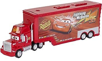 disneypixar cars mack truck and transporter - Disney Cars Toys Truck