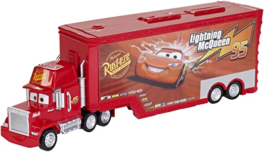 Disney/Pixar Cars Mack Truck and Transporter