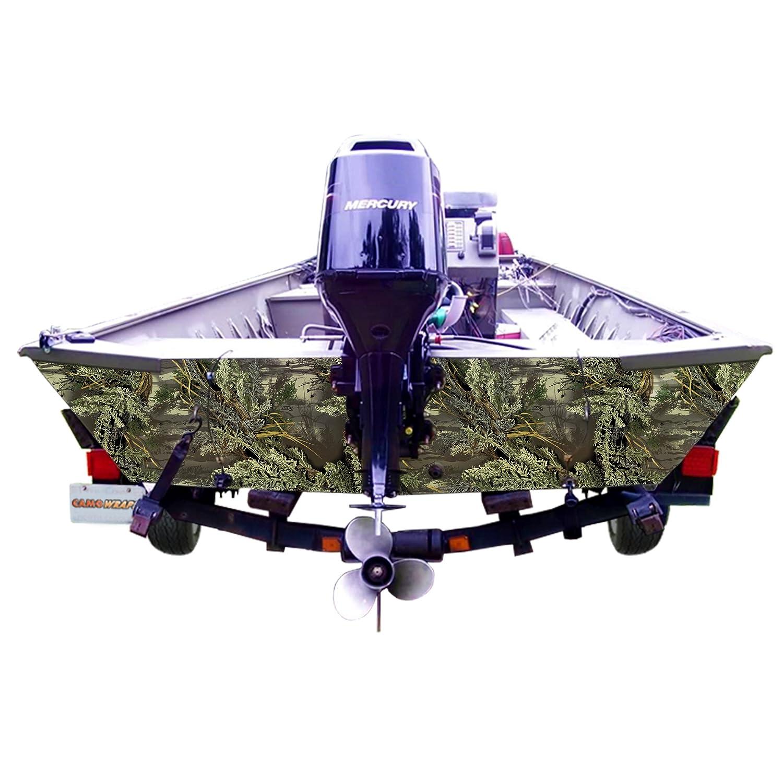 CamoWraps PTK-1880-XT 80 Boat Transom Kit with Realtree Xtra Camo Pattern