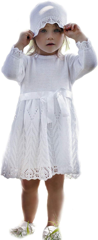 Sommer Taufkleid mit Stirnband WEISS-ROSA Babykleid Taufe 62,68,74,80,86 ANGEBOT