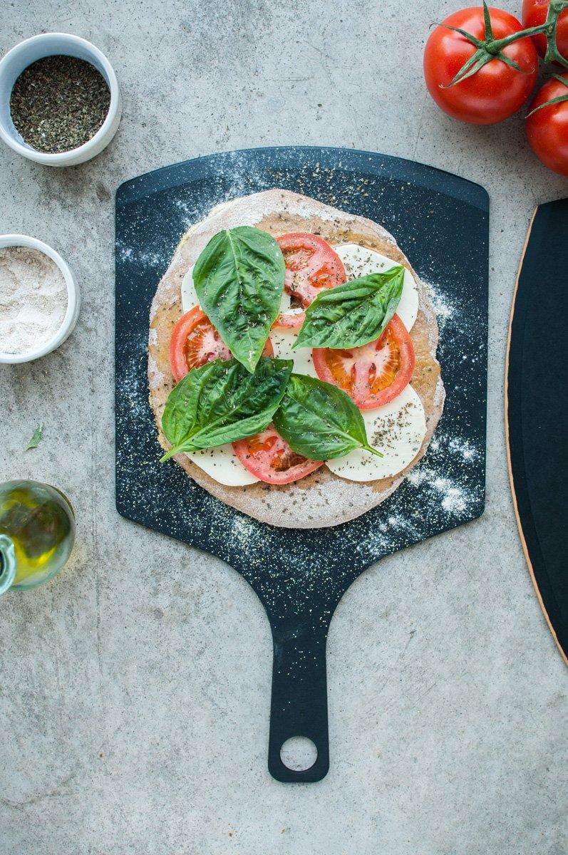 Amazon.com: Epicurean Pizza Peel, 17-Inch by 10-Inch, Slate: Kitchen ...
