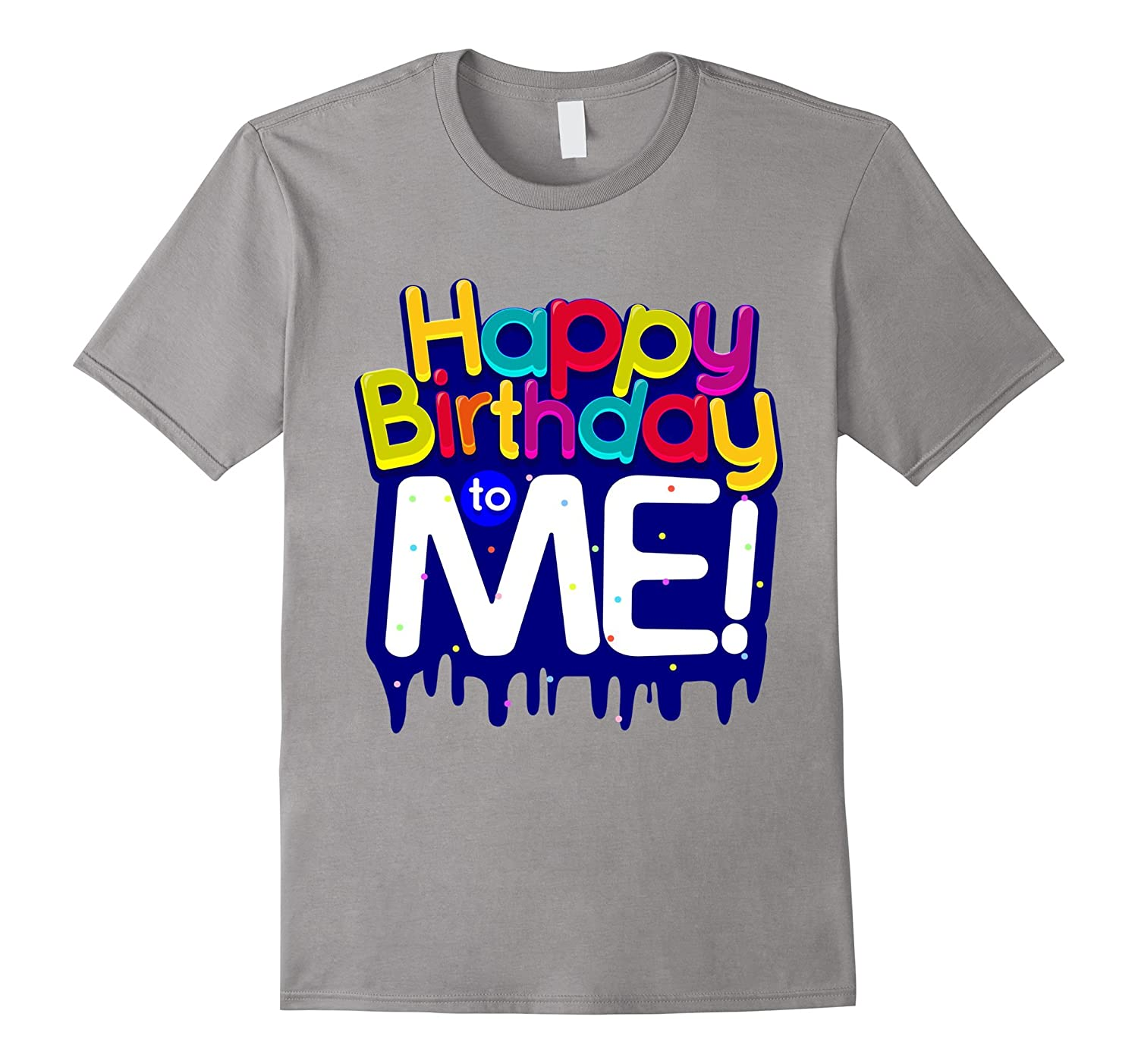 Happy Birthday To Me Party T Shirt For Kids