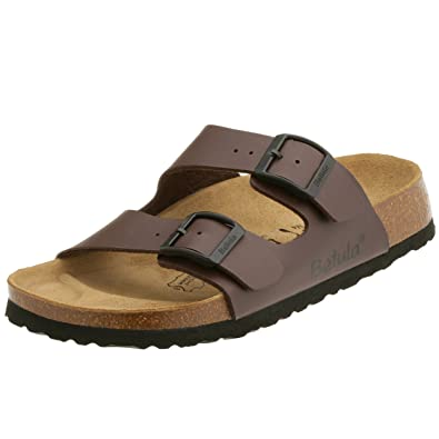 3aaa86e04 Betula   2-Strap   from Birko-Flor in Darkbrown 42.0 EU N  Amazon.co.uk   Shoes   Bags
