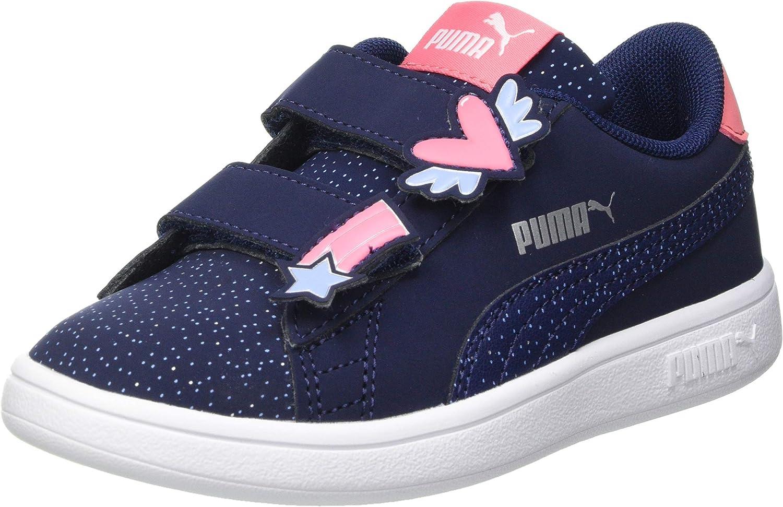 PUMA Smash V2 Unicorn V PS, Basket Fille: Amazon.fr: Chaussures et ...