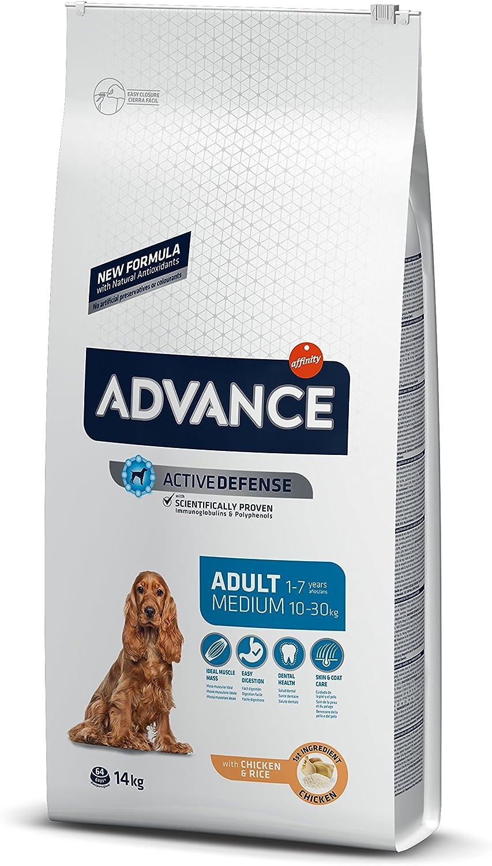 Advance Pienso para Perro Medium Adulto con Pollo - 14000 gr