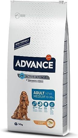 Oferta amazon: Advance Pienso para Perro Medium Adulto con Pollo - 14000 gr