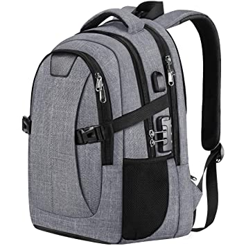 bbf933d84fd2 PICTEK Laptop Backpack, Business Travel Anti Theft Laptop Bag with USB  Charging Port and Lock for Women/Men, 30L Waterproof College School  Computer ...