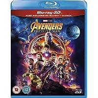 2 x Marvel 3D Region Free Blu-ray Movies