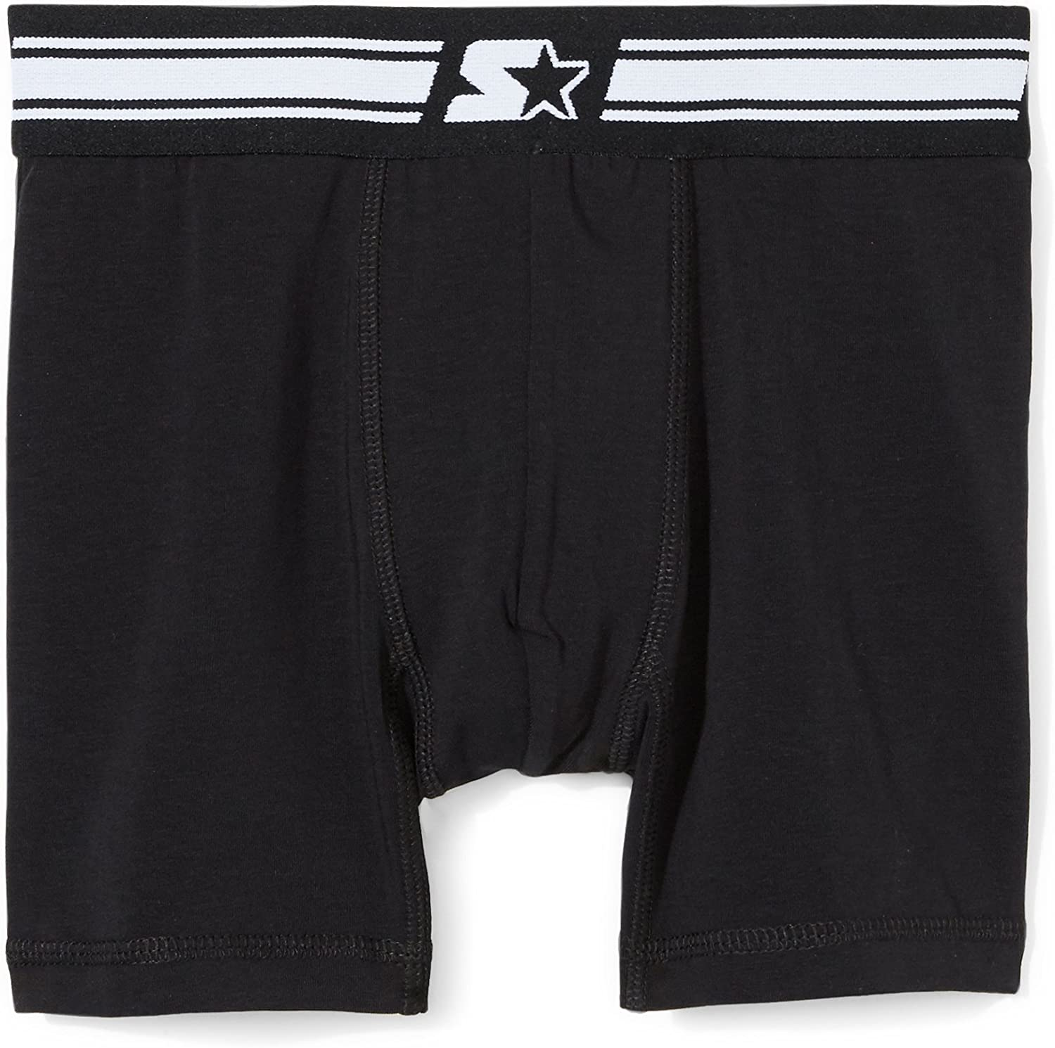 Starter Boys 4-Pack Stretch Performance Cotton Boxer Brief Exclusive,