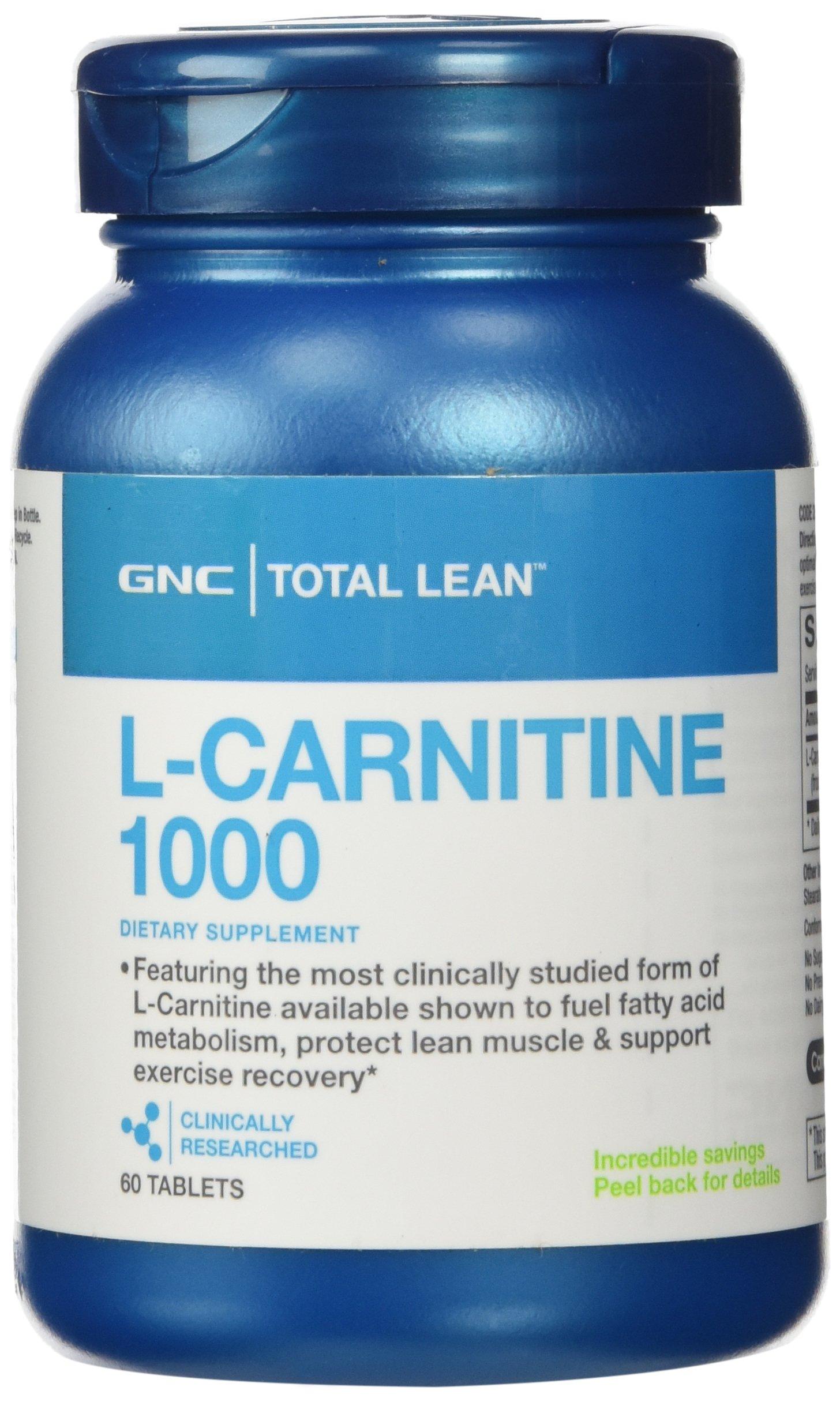 GNC Total Lean L-Carnitine 1000 by GNC (Image #1)