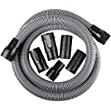 WORKSHOP Wet Dry Vacuum Accessories WS17823A Wet Dry Vacuum Hose, 1-7/8-Inch x 10-Feet Heavy Duty Contractor Wet Dry Vac…