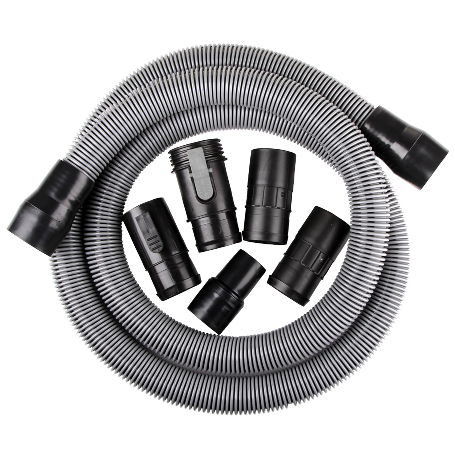 WORKSHOP Wet Dry Vacuum Accessories WS17823A Wet Dry Vacuum Hose, 1-7/8-Inch x 10-Feet Heavy Duty Contractor Wet Dry Vac Hose for Wet Dry Shop Vacuums by WORKSHOP Wet/Dry Vacs